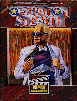 Portada del videojuego: Operation Stealth de 1990