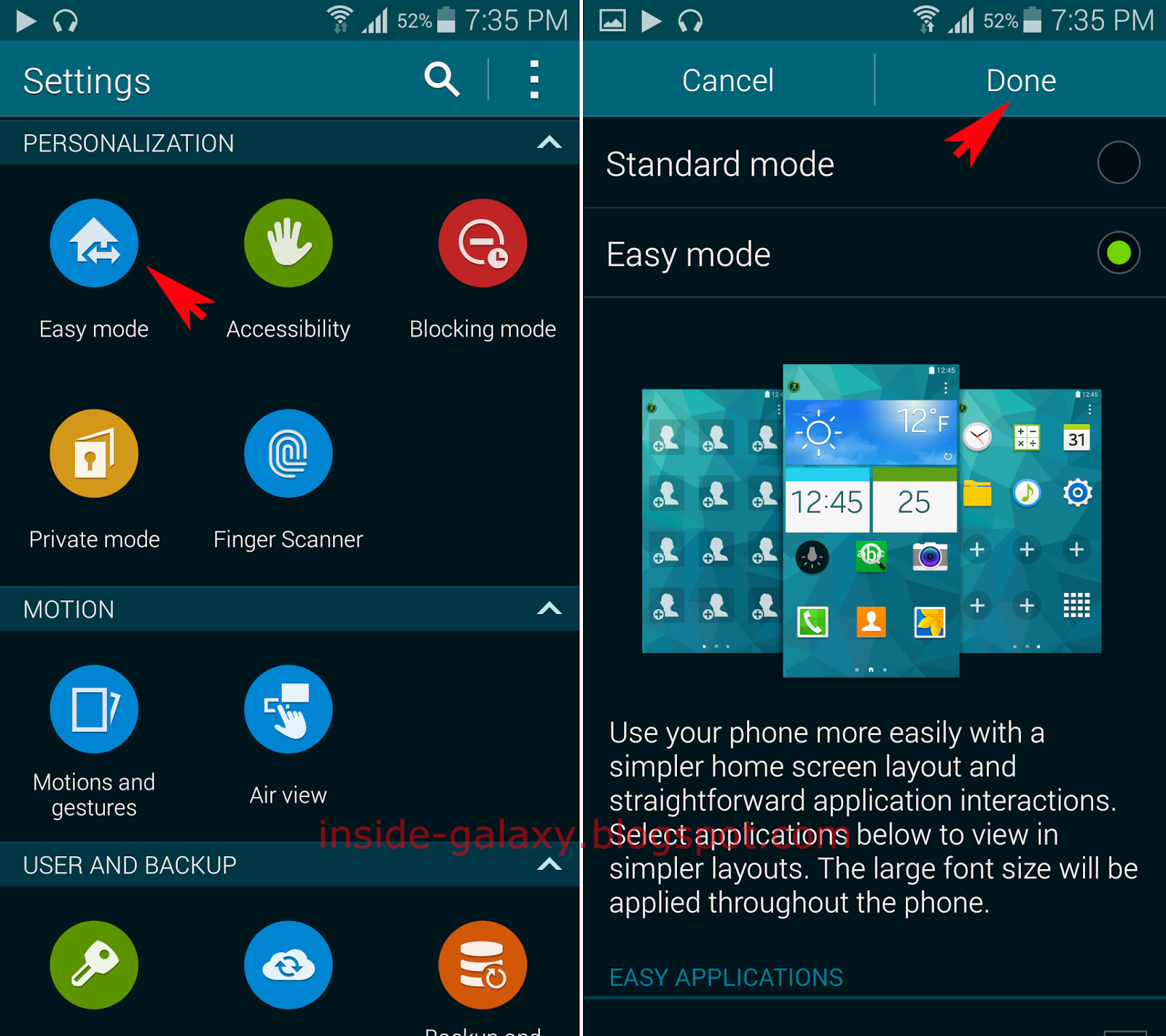 Inside Galaxy: Samsung Galaxy S5: How To Enable And