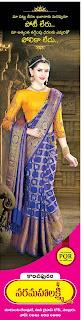 Kanchi vara mahalakshmi saree show room in nellore