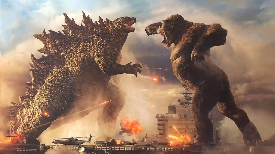 Godzilla vs. Kong, Movie, Battle, 4K, #3.2281