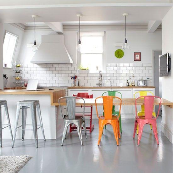 Arredamento stile Shabby Chic arredare interni ed esterni della casa SEDIE TOLIX VINTAGE