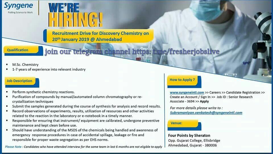 PRIVATE JOB GUJARAT: Chemistry