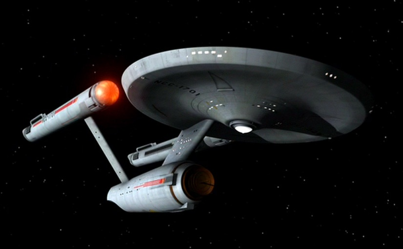 Star Trek created by Gene Roddenberry
