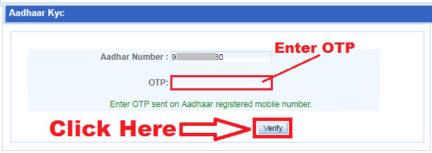 how to link aadhaar card in irctc account online