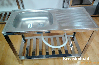 Daftar Harga Sink Stainless atau Cucian Stainless