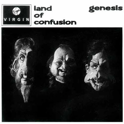 Genesis - Land of Confusion okładka singla