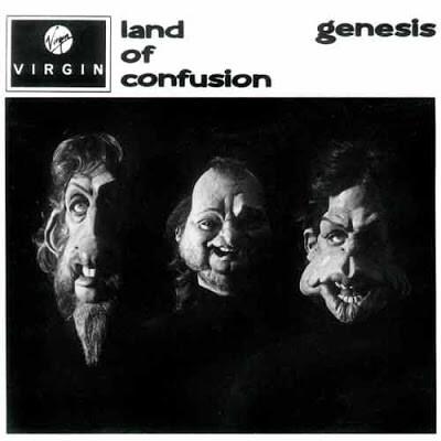 Genesis - Land of Confusion okładka singla