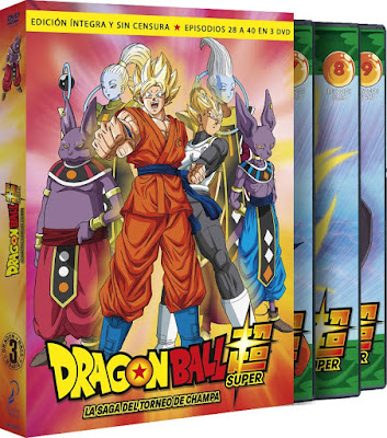 DRAGON BALL SUPER. BOX 3.