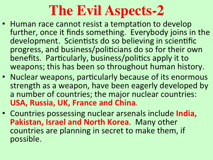 the human race cannot coexist with nuclear The only way the human race could however, in theory go extinct, would be a full scale nuclear war (aka world war iii) and also massive wars, or possibly a.