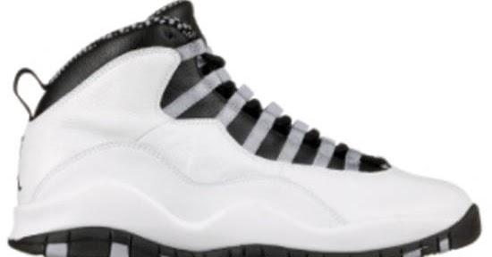 3924e39cb83339 Air Jordan 10 X Steel White Black-Light Steel Grey-Varsity  ajordanxi Your  1 Source For Sneaker Release Dates Air Jordan X Releases ...