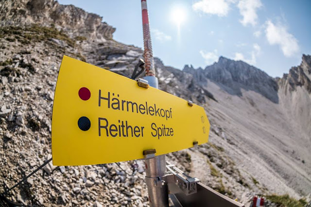 Reither Spitze Mountainbike Tour Track GPS