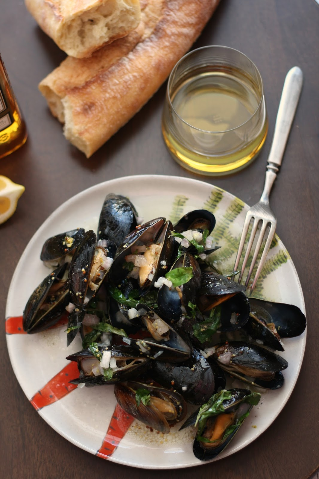 Whiskey Mussels en Papillote for Two | www. girlichef.com