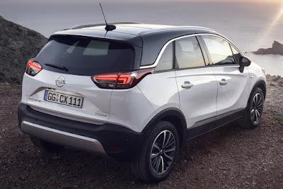 Το πολλά υποσχόμενο Opel Crossland X