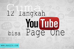 Cara Cepat Youtube Agar Bisa Page one Ala Donny Achmad Nasrulloh