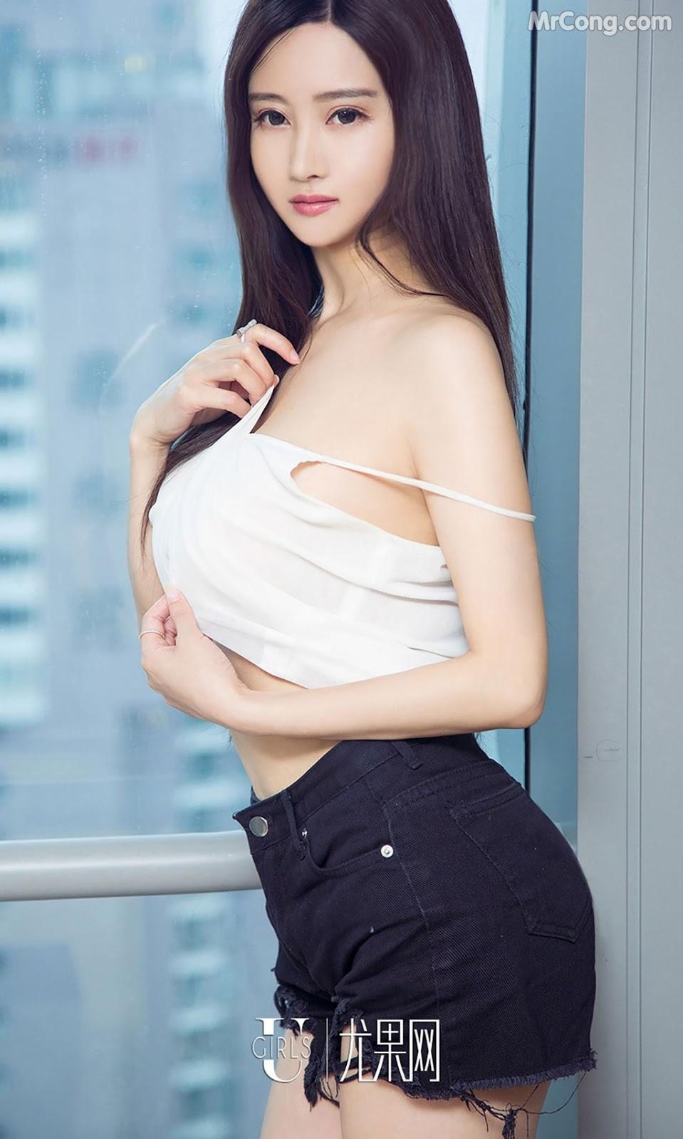 Image UGIRLS-Ai-You-Wu-App-No.790-MrCong.com-001 in post UGIRLS – Ai You Wu App No.790: Người mẫu Han Yu Chan (韩雨婵) (40 ảnh)