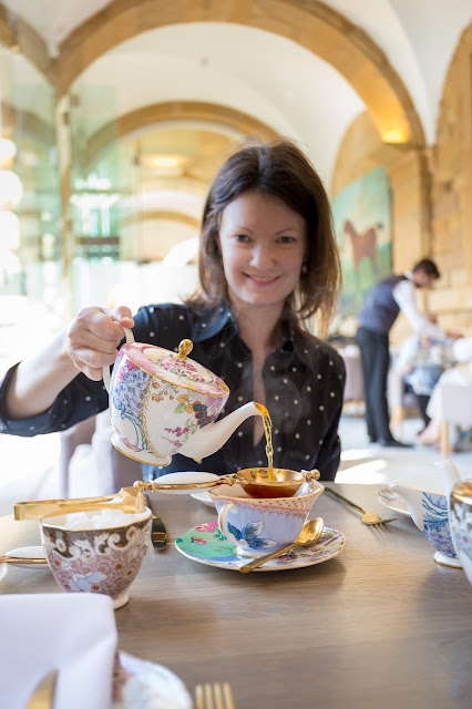 Chatsworth House Afternoon tea by Laurence Norah