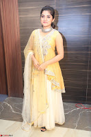 Nivetha Thamos in bright yellow dress at Ninnu Kori pre release function ~  Exclusive (61).JPG