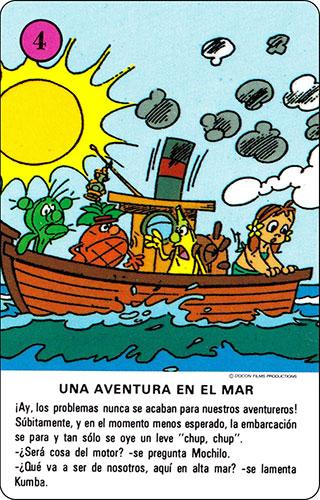Baraja Los Fruittis Carta rosa 4