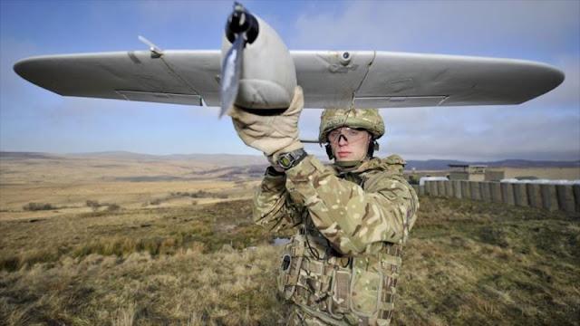 Reino Unido utiliza drones que no pueden volar si llueve