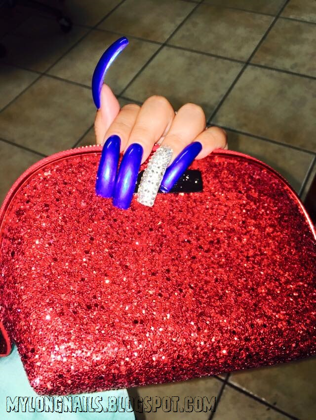 long nails super hot smiley s super sexy long nails