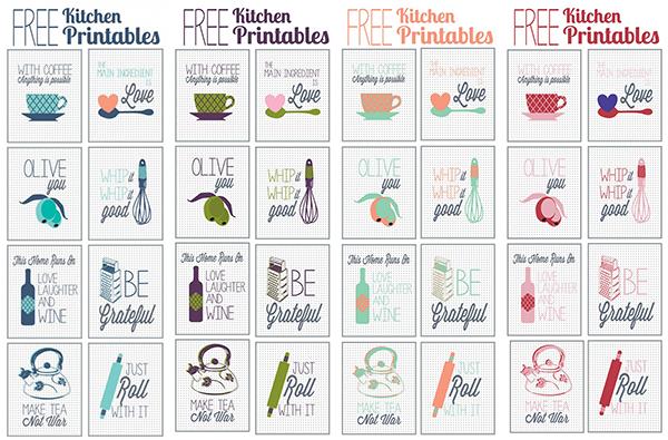 Freebies imprimibles para llevarte a tu cocina a - Todo para tu cocina ...