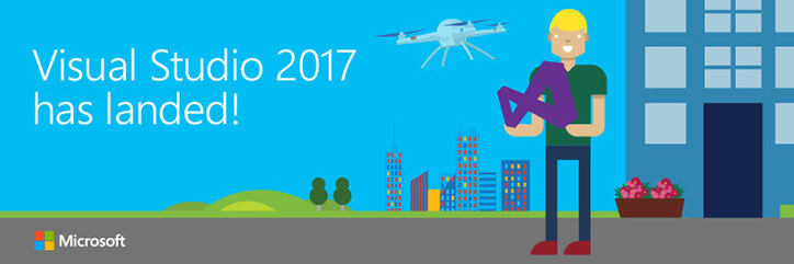 Visual Studio 2017 Has Landed