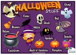 Resultat d'imatges de halloween vocabulary