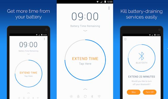 تطبيق Battery Time Saver للحفاض على عمر البطارية للاندرويد