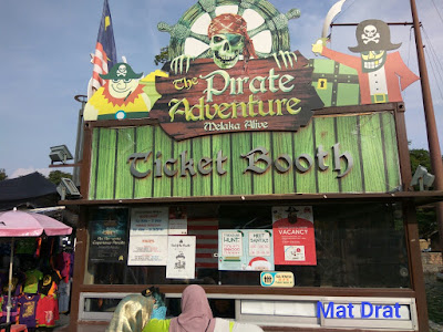 Tempat Menarik di Melaka Pirate Adventure Melaka Alive