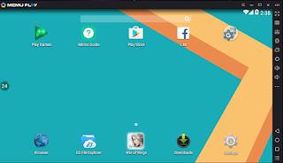 SS-Memu-02 MEmu Android Emulator terbaru September 2017, versi 3.3.0.2 (Android 4.4) | Lollipop 5.1 RC5 Technology