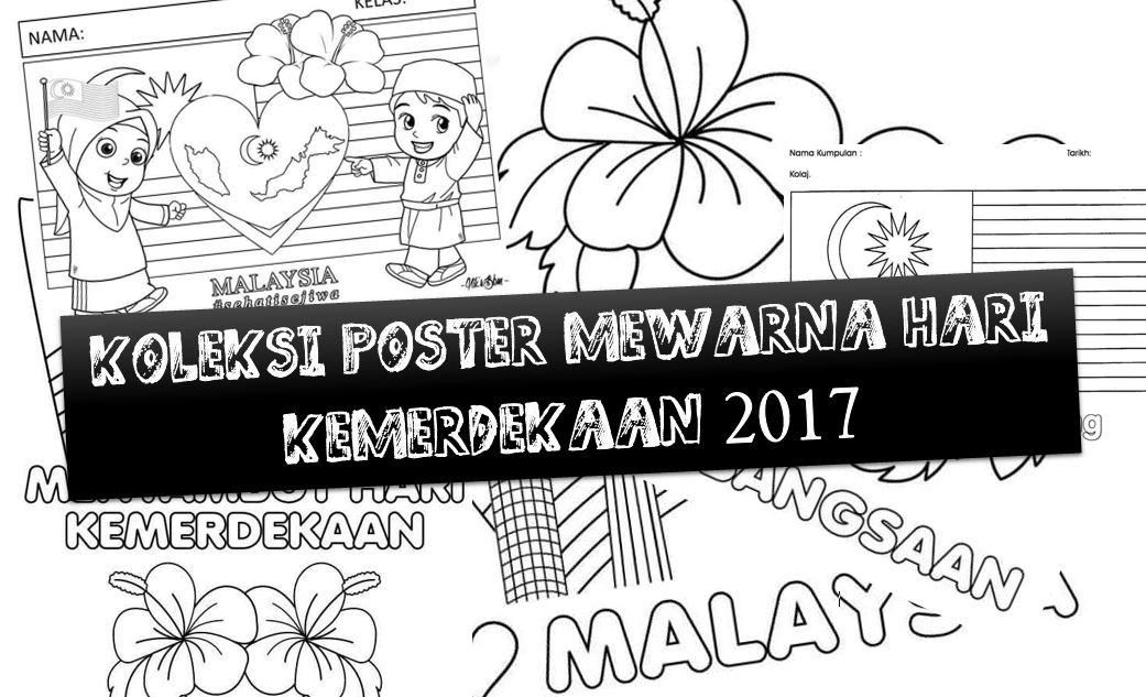 Koleksi Poster Mewarna Kemerdekaan Teachernet2u