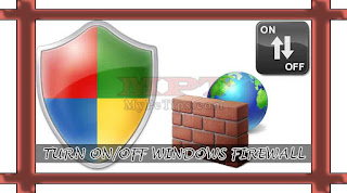 Turning Windows Firewall On / Off