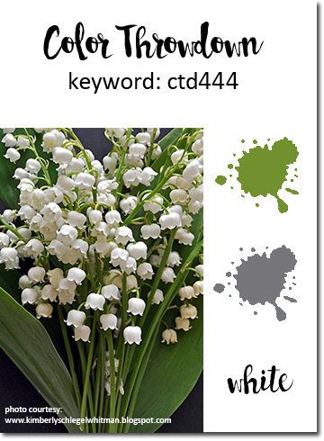 I card everyone color throwdown 444 look at these fabulous lily of the valley a favorite as a child and i can still conjure their fragrance at will ive been playing with a new set from altavistaventures Image collections