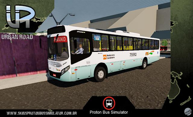 Skin Proton Bus Simulator - Caio Apache VIP IV MB Madureira Candelária