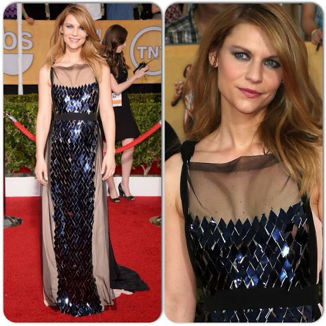 Claire Danes in Vionnet – 2014 SAG Awards