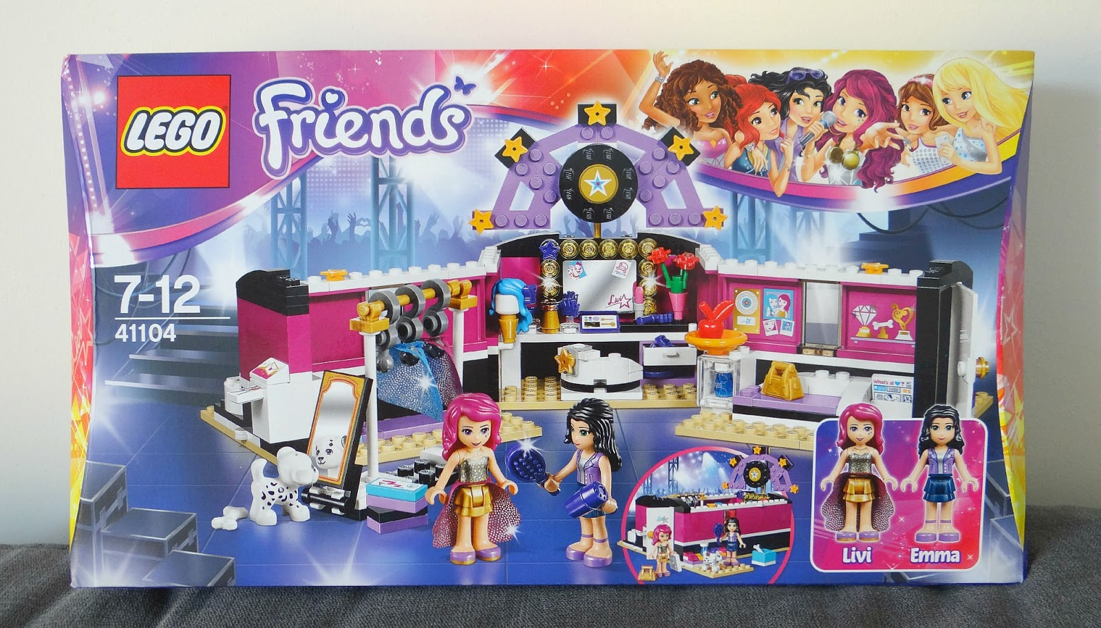 Lego Friends Pop Star Dressing Room - Daftar Harga ...