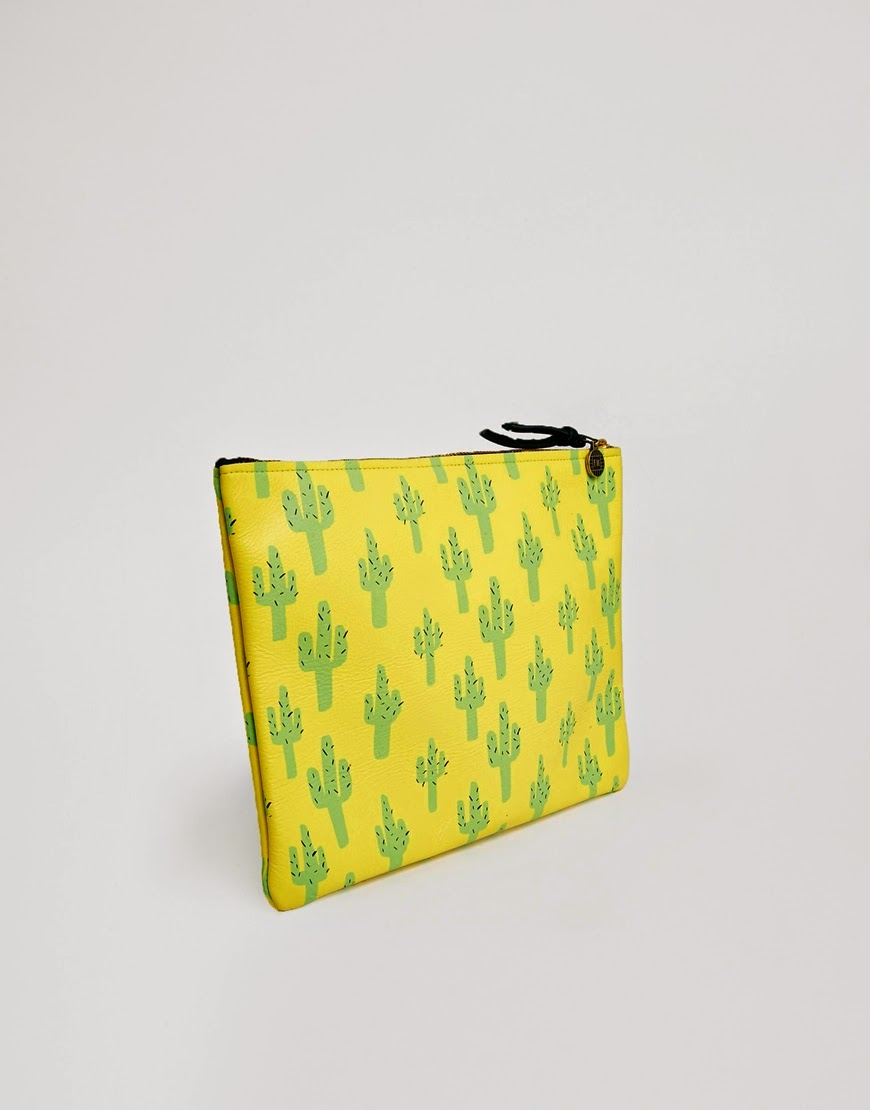 uk style blog cactus clutch