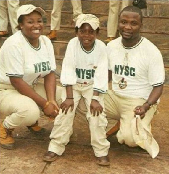 #TBT: Checkout Epic Throwback Photo Of Chinedu 'Aki' Ikedieze During His NYSC Service