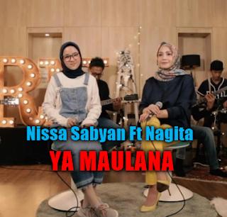 Download Lagu Nissa Sabyan Ya Maulana Ft Nagita Mp3 (5,44Mb),Nissa Sabyan, Nagita Slavina, Lagu Religi, 2018