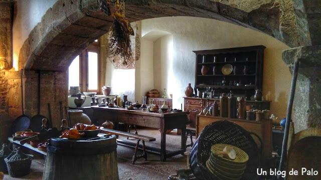 La cocina del castillo de Vianden