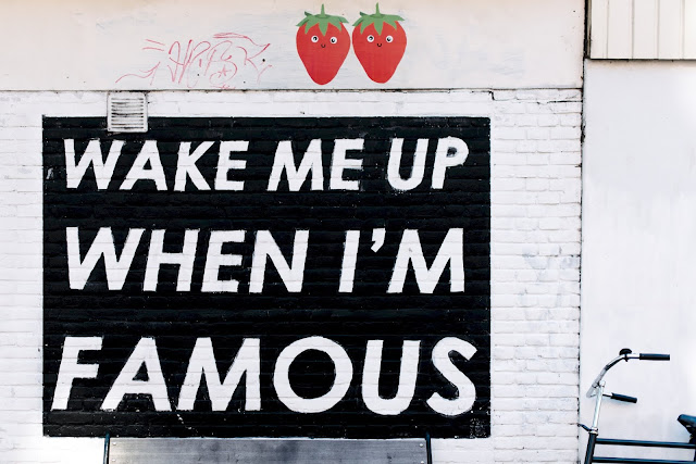 Wake Me Up When I am Famous - Quotes And Proverbs