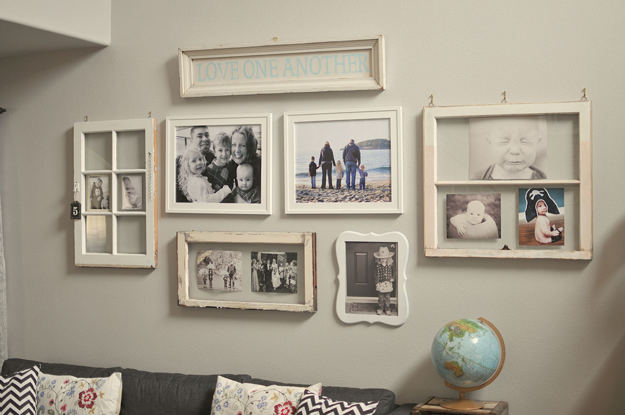 Uncategorized Picture Frame Wall Ideas 32 creative gallery wall ideas to transform any room blogger com