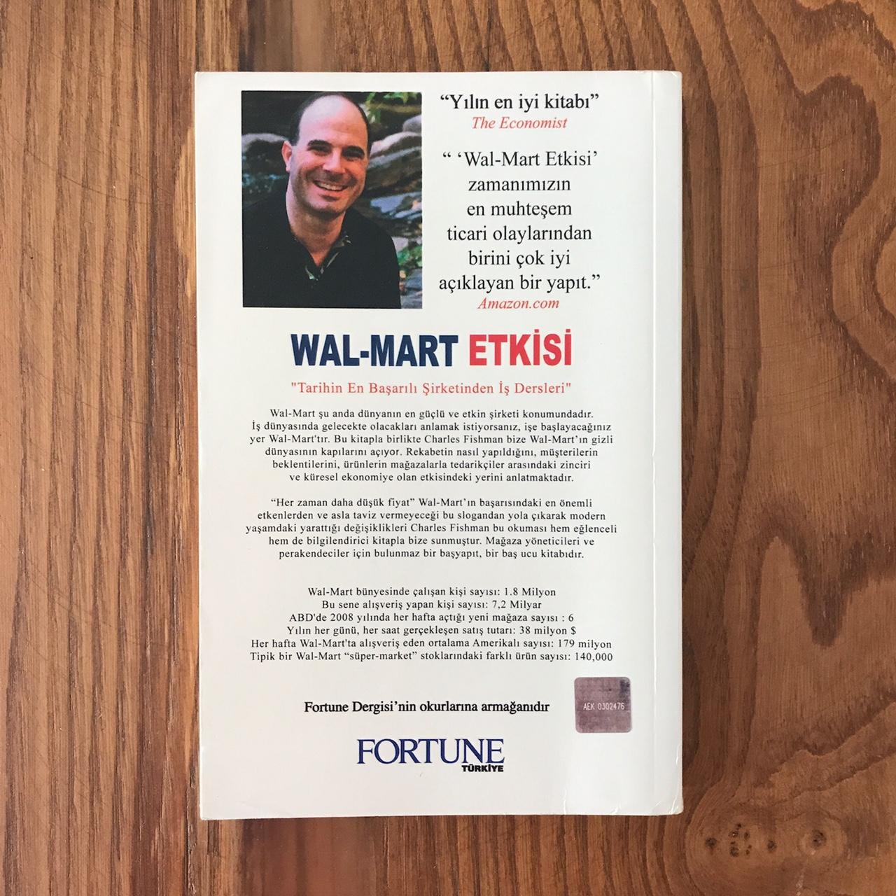 WalMart Etkisi - Dunya'nin En Buyuk Sirketinin Oykusu (Video) (Kitap) Arka Kapak