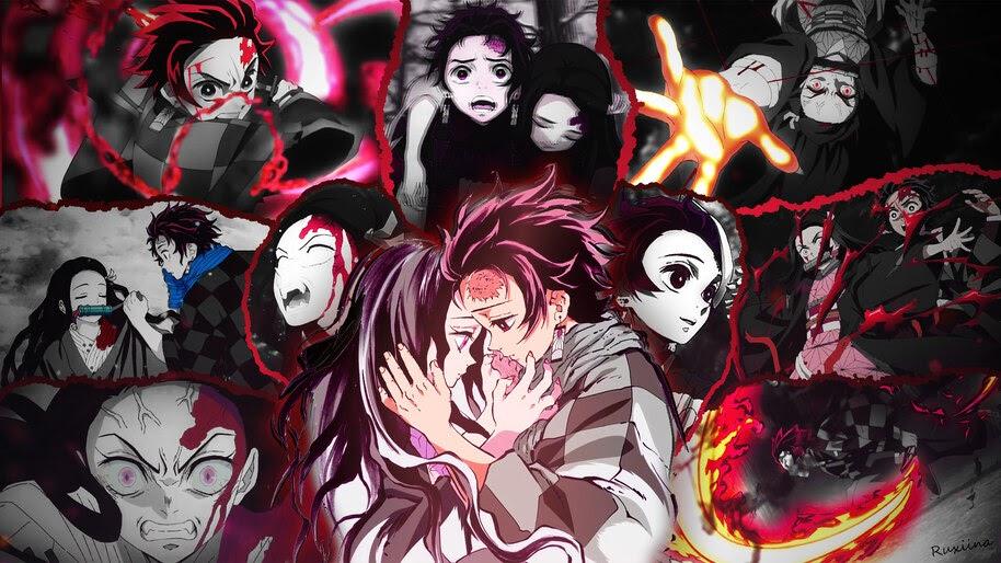 Anime Aesthetic Wallpaper Iphone Demon Slayer
