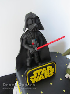 darth vader star wars party cake