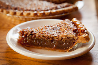 Great dining - Pecan Pie and other home made desserts