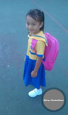 Hari pertama sekolah