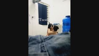 Clip: Dụ bạn gái Nữ Sinh THPT về phòng trọ Chịch Chút chơi @@