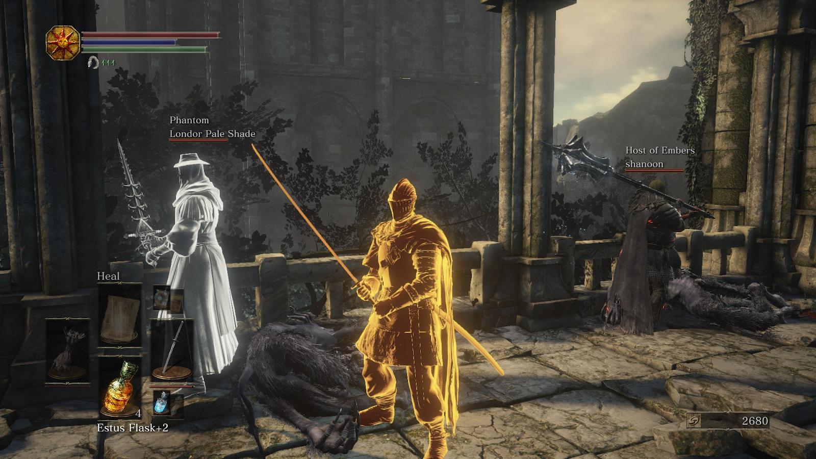 Dark Souls 3: Reading Signs and Summoning Phantoms
