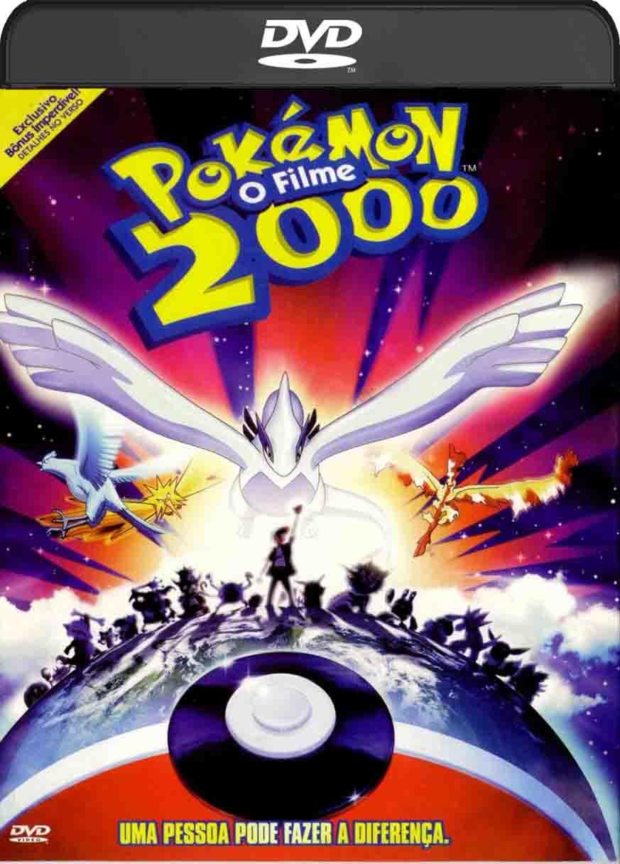 Pokémon O Filme (2000) DVD-R Oficial
